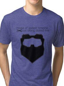 Incase of darkest timeline: Tri-blend T-Shirt