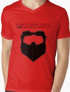 Incase of darkest timeline: Mens V-Neck T-Shirt