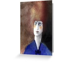 Clarissa Dalloway Greeting Card