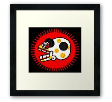 Aztec Skull 1 Framed Print