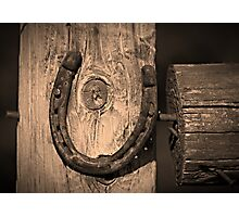 The Lucky Horseshoe Photographic Print