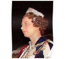 Her Majesty Queen Elizabeth  Poster