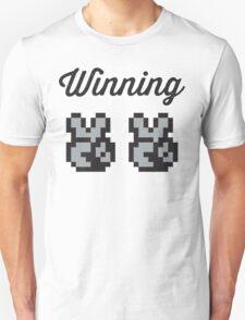 Street Fighter #Winning - B/W Unisex T-Shirt