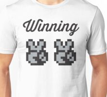 Street Fighter #Winning - B/W Unisex T-Shirt
