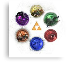 Ocarina Of Time:  All Bosses Metal Print