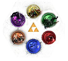 Ocarina Of Time:  All Bosses Photographic Print