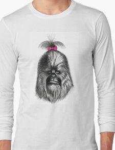 Chewbacca got his hair did Long Sleeve T-Shirt