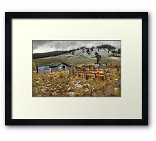 Baby Its Cold Outside - Oberon, NSW - The HDR Experience Framed Print