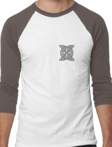 Celtic Knot Tribal Tattoo Men's Baseball ¾ T-Shirt