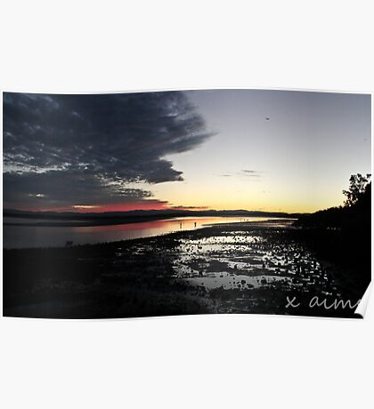 Low Tide on Hays Inlet Poster
