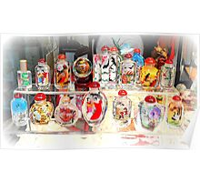 Chinese Perfume Bottles Poster