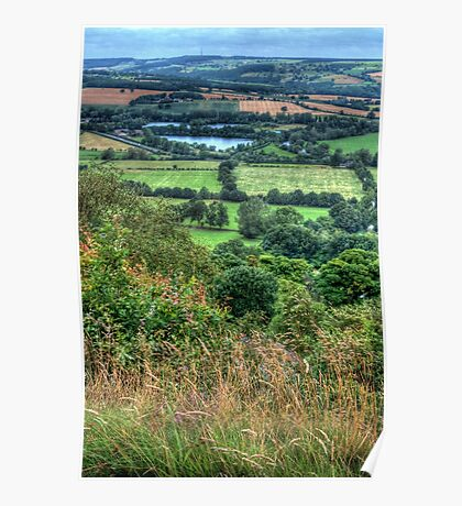 View from Otley Chevin #2 Poster
