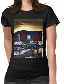 The Naust Womens Fitted T-Shirt