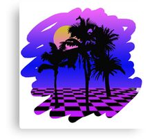 Eighties Technicolor Dreams Canvas Print