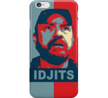 Bobby Singer: Idjits! (Supernatural) iPhone Case/Skin