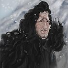 Jon Snow by JenSnow