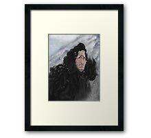 Jon Snow Framed Print