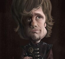 Tyrion Lannister by JenSnow