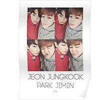 BTS/Bangtan Sonyeondan - Jungkook & Jimin Photocard Poster