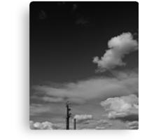 Stobie with Cloud Canvas Print