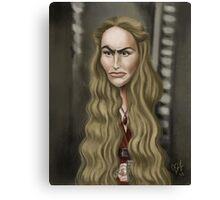 Cersei Lannister Canvas Print