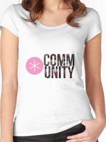 E Pluribus Anus Women's Fitted Scoop T-Shirt