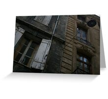 Bordeaux facade Greeting Card