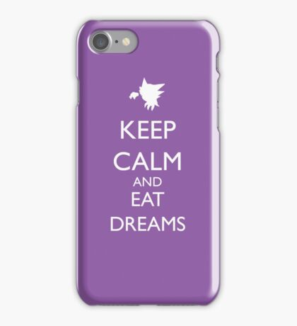 Keep calm and eat dreams iPhone Case/Skin
