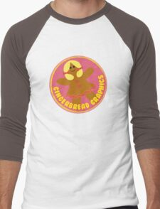 Gingerbread Graphics Men's Baseball ¾ T-Shirt