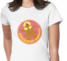 Gingerbread Graphics Womens Fitted T-Shirt
