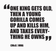 Conor McGregor - Quotes [Gorilla] by TypeTees