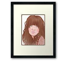 Carly Rae Jepsen Illustration - Original Framed Print