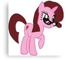 My Little Pony Vector- Nikki Canvas Print