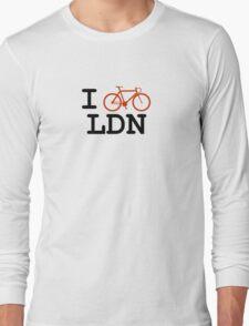 "I ""ride"" London Long Sleeve T-Shirt"