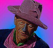 John Wayne Rio Bravo Culture Cloth Zinc Collection by CultureCloth