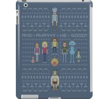 Rick and Morty Family Portrait iPad Case/Skin