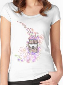 Flower Power Women's Fitted Scoop T-Shirt