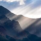 God Rays - Telluride, CO by Ryan Wright