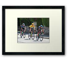Sky Train - Tour de France 2012 Framed Print