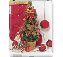 Santa Claus with Christmas gift  iPad Case/Skin