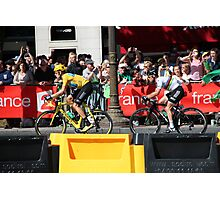 Tour de France 2012 - Wiggo & Cav in Paris Photographic Print