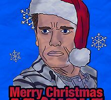Schwarzenegger Christmas by digihill