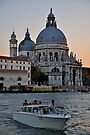 Venice With A Kiss Of Tangerine Twilight... by Ainsley Kellar Creations