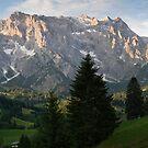 Alpine dusk by Walter Quirtmair