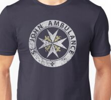 St. John Ambulance, distressed Unisex T-Shirt