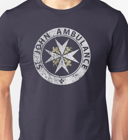 St. John Ambulance, distressed Unisex T-Shirt