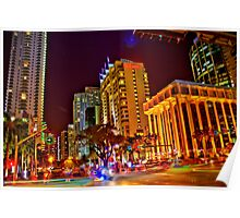 Miami Nights - Brickell II Poster