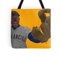 Willie Mays San Francisco Giants Culture Cloth Zinc Collection Tote Bag