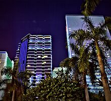 Miami Nights - Brickell III by Terry Neves