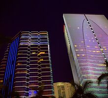 Miami Nights - Brickell IV by Terry Neves
